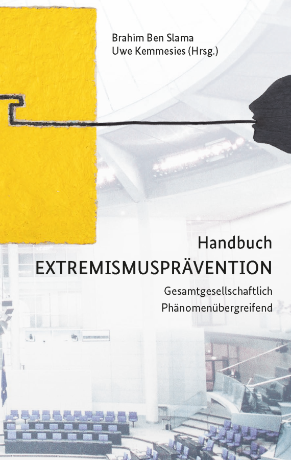 Cover des Handbuchs Extremismusprävention