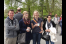 SFB858 - MSCEC 2013: In the Schloss garden during the Coffee Break.