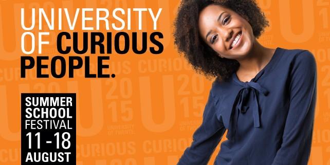 """Summer School """"CuriousU"""" an der Universität TwenteSummer School """"CuriousU"""""""