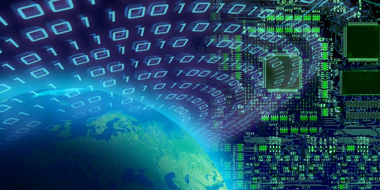 Weltweiter Datentransfer<address>&copy; colourbox.de</address>