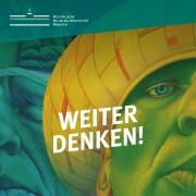 """Plakat zum Projekttag """"Weiter denken! Persönliche Freiheit gemeinsam verteidigen"""""""