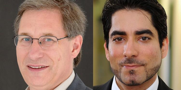 Prof. Dr. Detlef Pollack und Prof. Dr. Mouhanad Khorchide (v.l.)