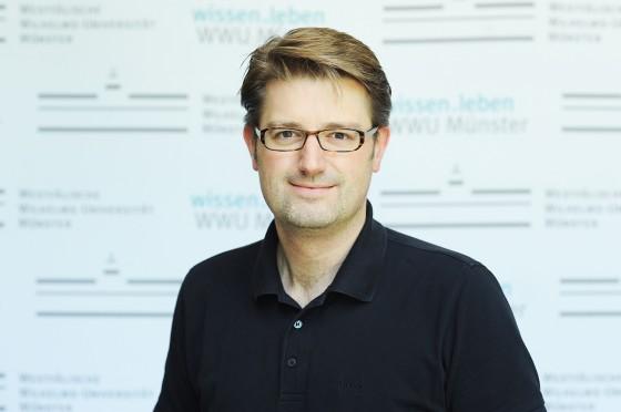 Prof. Dr. Thorsten Kleine, münsterscher Ko-Sprecher des neuen SFB-Transregios<address>© WWU / Peter Grewer</address>