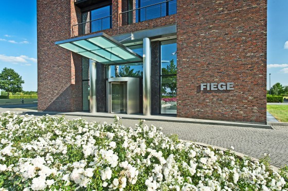 Fiege, a logistics service provider located in Greven near Münster.<address>© Fiege – Fotograf Dirk Egelkamp, Ibbenbüren</address>