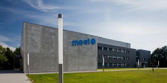Das MEET-Batterieforschungszentrum in Münster<address>&copy; WWU/Peter Leßmann</address>