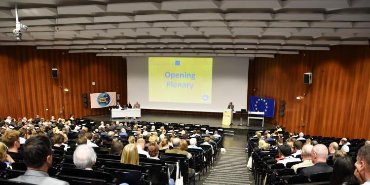 Eröffnungsveranstaltung der Euro Crim 2016 im H1<address>&copy; WWU - Friederike Stecklum</address>