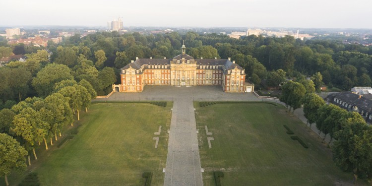 Das Schloss im Jahr 2017<address>&copy; WWU/Jan Lehmann</address>