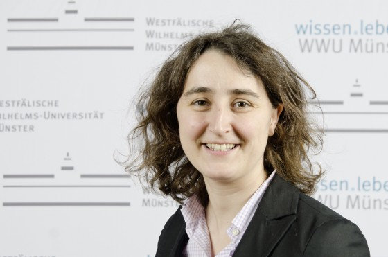 Prof. Dr. Andrea Rentmeister<address>&copy; WWU/Laura Grahn</address>