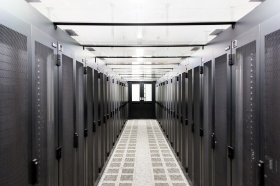 The planned research data infrastructure for Münster University will be housed in the new server room in Einsteinstrasse.<address>&copy; WWU - Peter Leßmann</address>