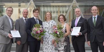 Universitätsgesellschaft Münster verleiht Nachwuchsförderpreise: Auszeichnung für Biochemikerin Dr. Stefanie Schirmeier und Mediziner Dr. Nils Opel / 10.000 Euro Preisgeld