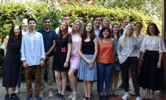 Participants from eleven nations attend the &quot;European Campus of Intercultural Perspectives&quot; Summer School.<address>© WWU - Sophie Pieper</address>