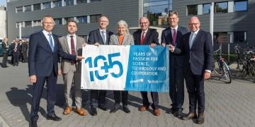 MEET Batterieforschungszentrum und Helmholtz-Institut Münster feiern Jubiläum: Gemeinsames Dach für Batterieforschung in Münster / 150 Gäste besuchen Geburtstagsfeier