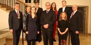 450 Gäste besuchen Neujahrsempfang der WWU: Rektorat vergibt Lehr-, Gleichstellungs- und Studierenden-Preis / WWU veranstaltet