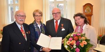 Bundesverdienstkreuz für Ingo Weiss: