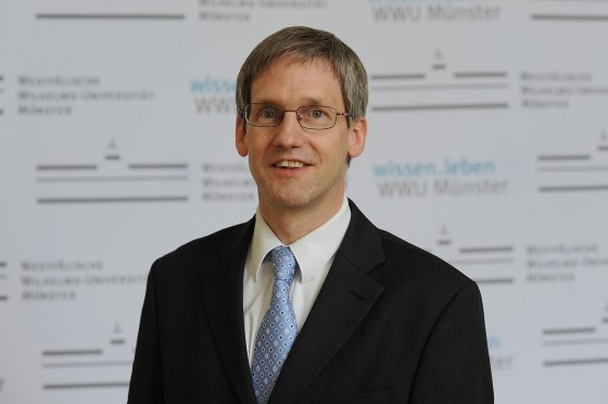 Prof Bernhard Wünsch, spokesman fort he Research Training Group<address>© Münster University - Peter Grewer</address>
