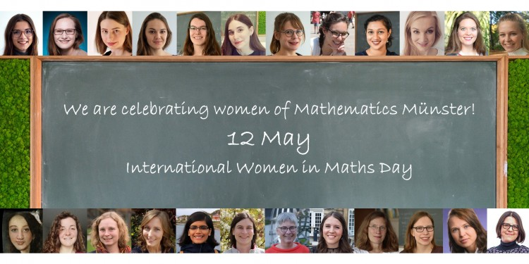 Auch an der WWU wird der International Women in Maths Day gefeiert<address>© Mathematics Münster/privat</address>