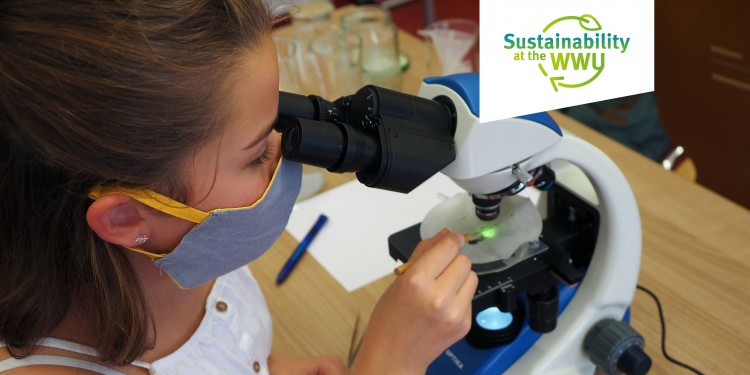"The ""Form your Future"" project trains young people as ""ambassadors for sustainability"".<address>© WWU - Form your Future</address>"