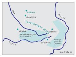 Varusschlacht Karte.Starb Varus Doch Nicht In Kalkriese